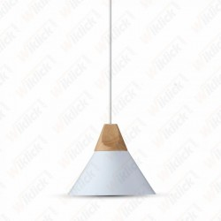Aluminium Pendant Light  White