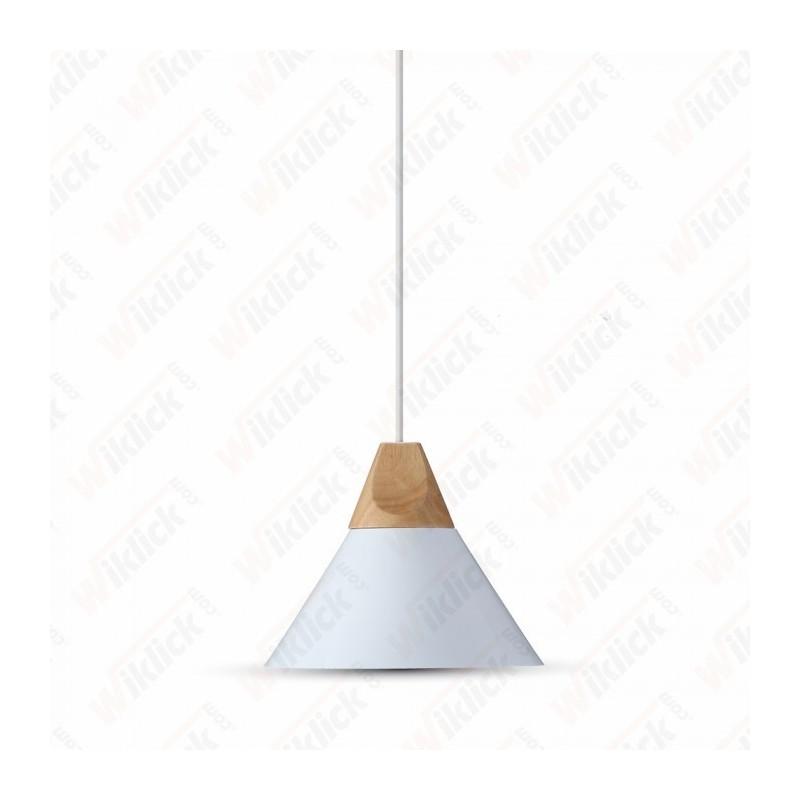 Aluminium Pendant Light  White