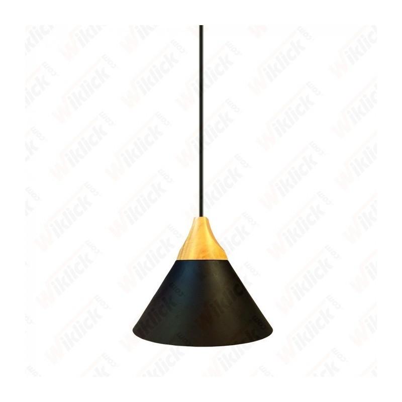 Aluminium Pendant Light  Black