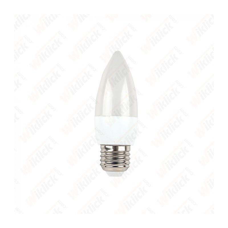 LED Bulb - 5,5 W E27 Candle 6400K