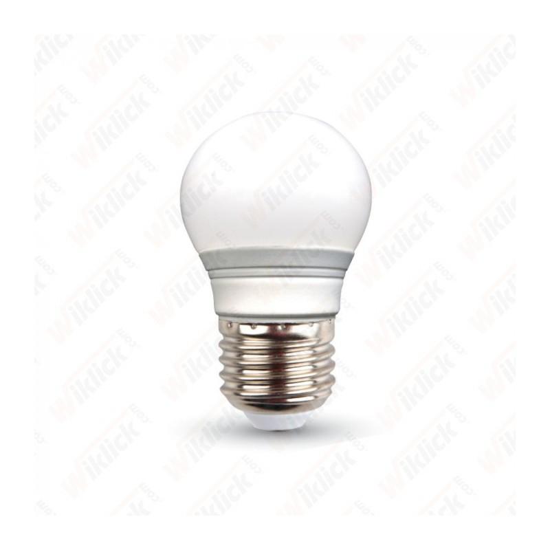 V-TAC VT-1830 LAMPADINA LED E27 4W MINI GLOBO LUCE BIANCO CALDO